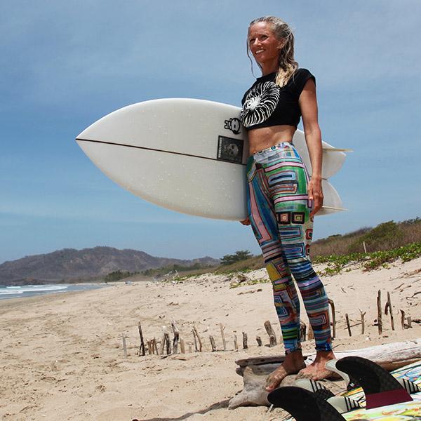 Amy Mapquest legging